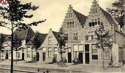 Munnickenveld met de genoemde huizen