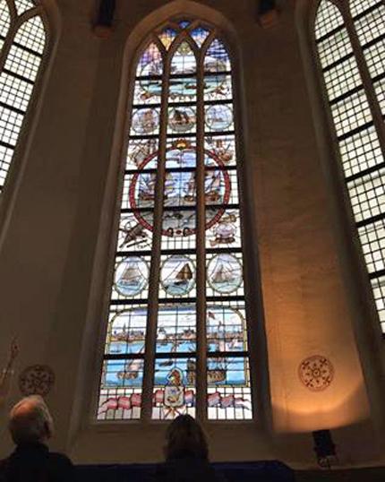 raam oosterkerk